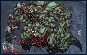 Joe Mad's Demon by Jay--Zilla