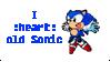 I :heart: old Sonic by ninacat309