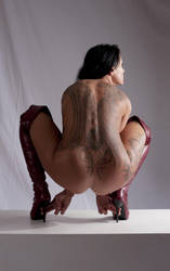Famous Amos Nude 2a by jagged-eye