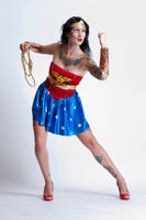 Niki Nix Wonder Woman 1a by jagged-eye