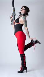 Niki Harley Quinn 4a by jagged-eye