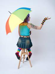 Starry Umbrella 2a by jagged-eye