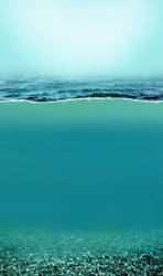 Water split Aqua 1a by jagged-eye