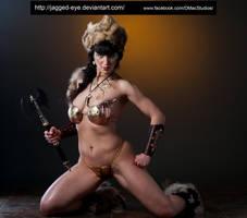 Tatiana Warrior-140 by jagged-eye