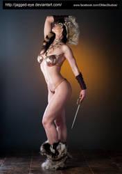 Tatiana Warrior-158 by jagged-eye