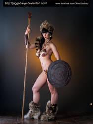 Tatiana Warrior-172 by jagged-eye