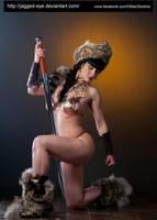 Tatiana Warrior-196 by jagged-eye
