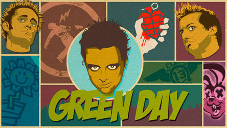 Green Day by alexizaguirre