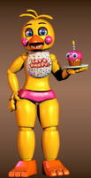 [FNAF2] Toy Chica SHOW TIME by MangoISeI