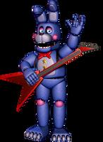 [FNAF:Pizzeria Simulator] Rockstar Bonnie by MangoISeI