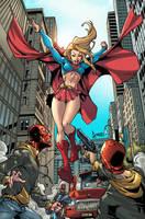 Supergirl by JUANCAQUE