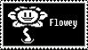 Flowey stamp by regnoart