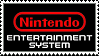 Nintendo Entertainment System (NES) logo stamp by regnoart