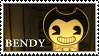 Bendy And The Ink Machine - Bendy stamp by regnoart