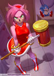 Amy Rose by playfurry