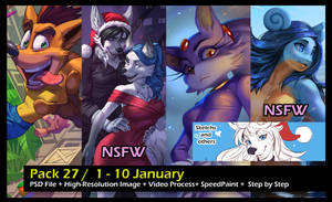 Pack 27 / 1 - 10 January by playfurry