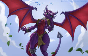 Cynder by playfurry
