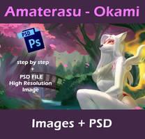 Amaterasu Okami - Pack by playfurry