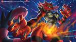 Incineroar Smash by playfurry