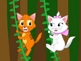 Oliver and Marie playing Tarzan by Ryansmither1