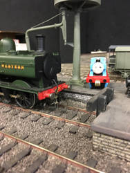 Thomas and the Pannier Tank at Howarth Junction by Ryansmither1