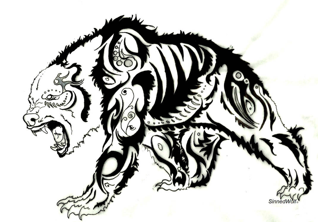 Oso Polar Tribal By Sinnedwolf On Deviantart
