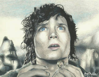 Frodo Baggins by pink12301