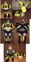 Bumblebee Plushie by Dragon-Star-Empress