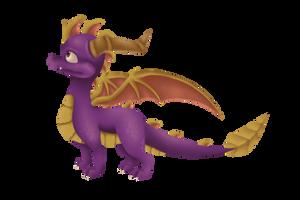 FanArt: Spyro The Dragon (Anb version) by cabbij