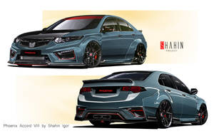 Honda Accord VIII Phoenix by Shahin Project by tuninger