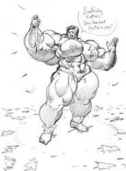 Growgirl Chainsketch by Jebriodo