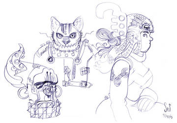 Hostel Doodles by Jebriodo
