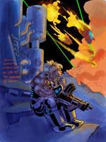 Genica:Attack Ships on Fire by Jebriodo