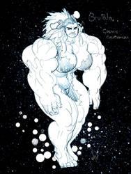 Brutala: Cosmic Cavewoman by Jebriodo