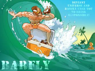 Barfly Surf's Up by Jebriodo