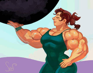 Powerful Katinka by Jebriodo