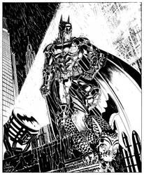 Arkham Knight commission #1 by Jebriodo