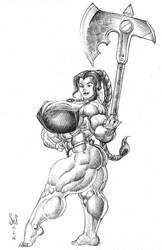 Zira sketch by Jebriodo