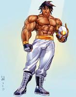 Hero color sketch by Jebriodo