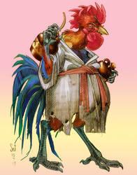 Ji the Palluk color sketch commission by Jebriodo