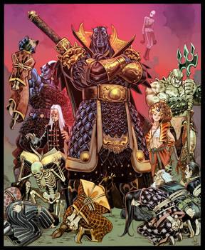 Killshade the Conqueror color commission by Jebriodo