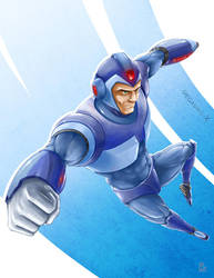 Megaman Tribute by DBZFreako