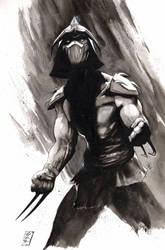 Shredder inktober by SpaciousInterior