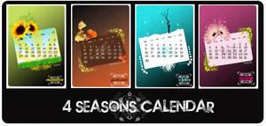 4 seasons calendar by xwaNiex