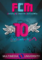 fcm 10th anniversary poster by xwaNiex