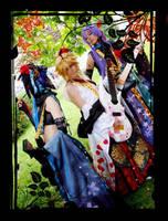 Vocaloid Moonflowers blossom aglow by KiraShiranui