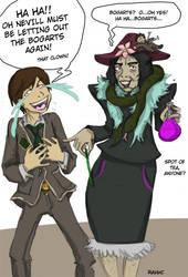 Raito and Snape Parody by Rahhc