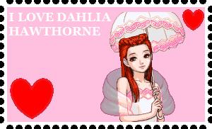 I Love Dahlia Hawthorne by roseprincessmitia