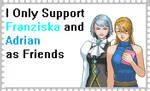 Franziska Adrian as Friends by roseprincessmitia