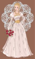 Wedding Day Princess Lady by roseprincessmitia